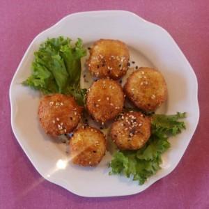 Λουκουµάδες τυριών