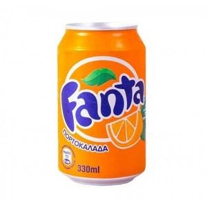 Πορτοκαλάδα Fanta κόκκινη 330ml